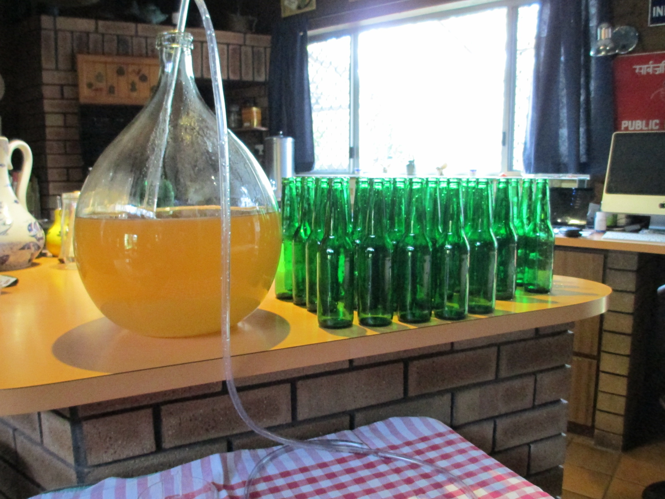 Ready to bottle