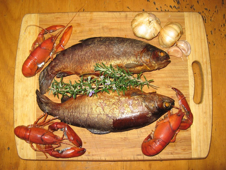 smoked trout good
